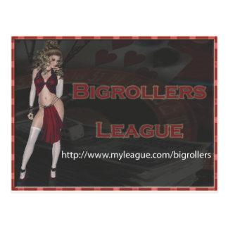 Bigrollers Postcard