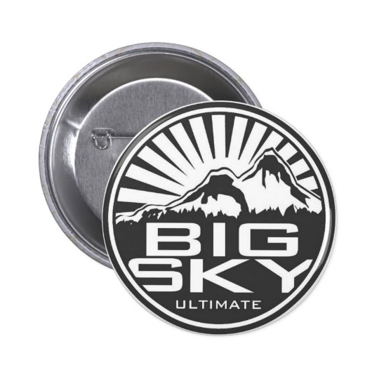 BigSky Flair 6 Cm Round Badge