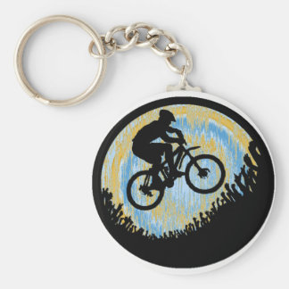 Bike Alpine Ascent Key Ring