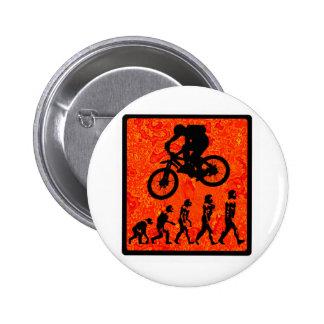 bike At Redwood 6 Cm Round Badge