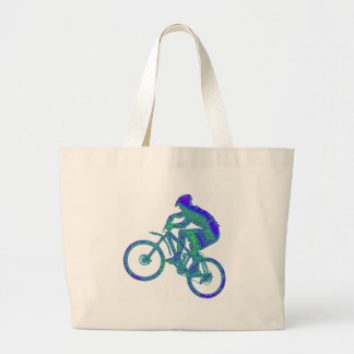Bike Azul Azur Tote Bag