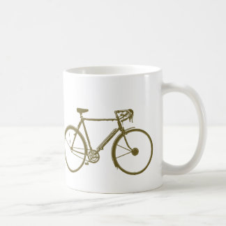 bike , bicycle ; biking / cycling coffee mug
