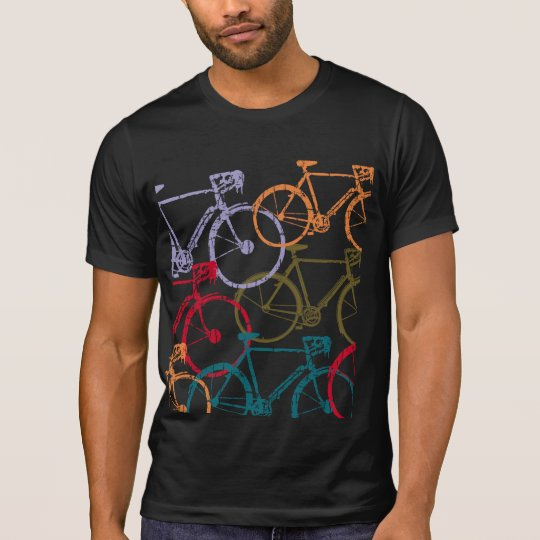 bike / bicycle cycling colourful T-Shirt