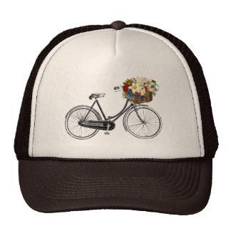 Bike bicycle flower pretty hat