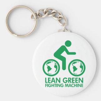 Bike Bicycle Green Keychains
