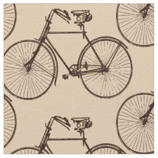 Bike bicycle  pretty spring fabric oatmeal cream