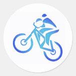 Bike Blue Bayou Stickers