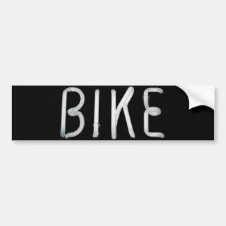 Bike Car Bumper Sticker