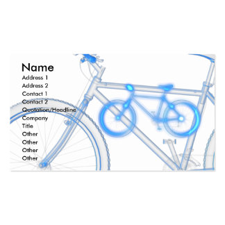 Bike Pack Of Standard Business Cards