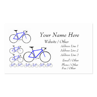 bike card pack of standard business cards