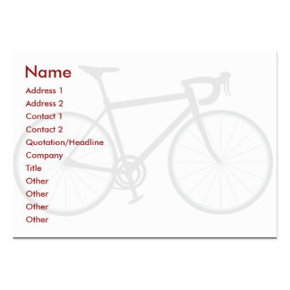 Bike - Chubby Pack Of Chubby Business Cards