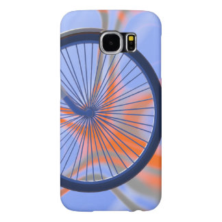 Bike Cycle - Bicycle Wheel Samsung Galaxy S6 Cases