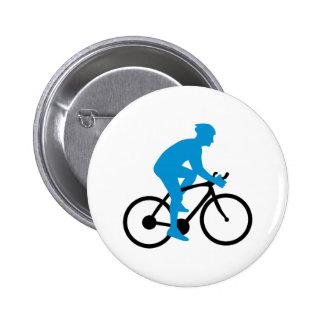 Bike cycling 6 cm round badge