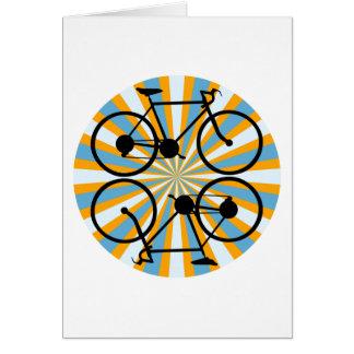 Bike Cycling Bicycle Card