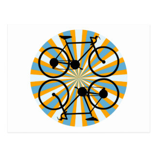 Bike Cycling Bicycle Postcard