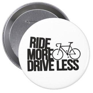 Bike Cycling Bicycle Riding Biker Less 10 Cm Round Badge