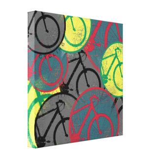 bike decor art gallery wrap canvas