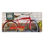 Bike - Delivery Bike Personalised Photo Card