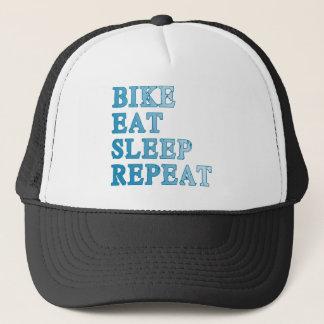 Bike, Eat, Sleep, Repeat Products Trucker Hat