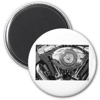 Bike Engine 6 Cm Round Magnet