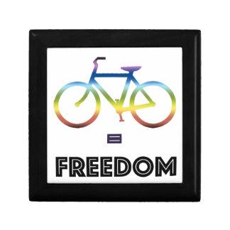 Bike Equals Freedom Gift Box