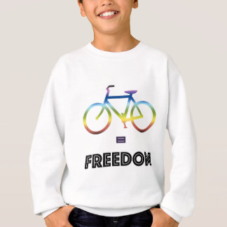 Bike Equals Freedom Sweatshirt