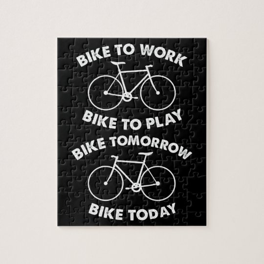 Bike Forever - Cool Cycling Jigsaw Puzzle