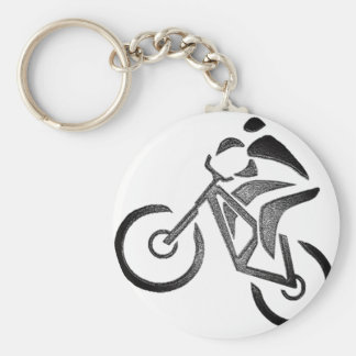 Bike Glow Style Key Ring