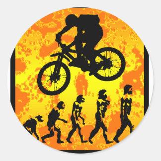 Bike Good Mojo Round Sticker