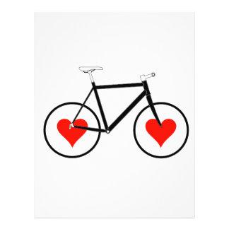 Bike heart Wheels 21.5 Cm X 28 Cm Flyer