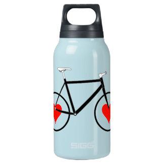 Bike heart Wheels Insulated Water Bottle