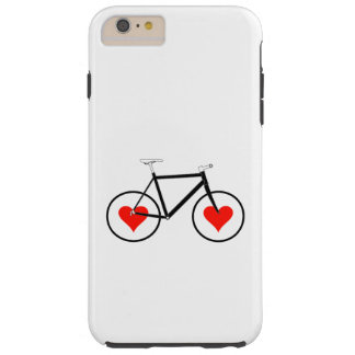 Bike Heart Wheels Tough iPhone 6 Plus Case