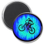 bike Home Base 6 Cm Round Magnet