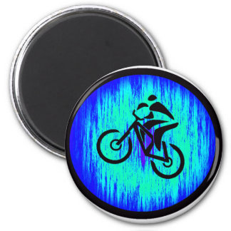 bike Home Base 6 Cm Round Magnet