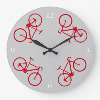 bike hour decor wallclocks