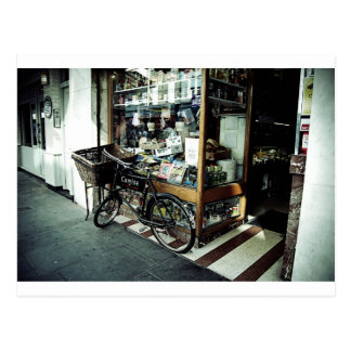 Bike in Soho Postcard