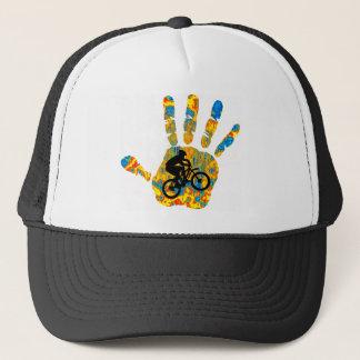 Bike  inspired trucker hat