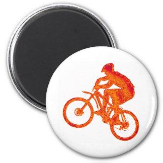 Bike Jump Stop 6 Cm Round Magnet