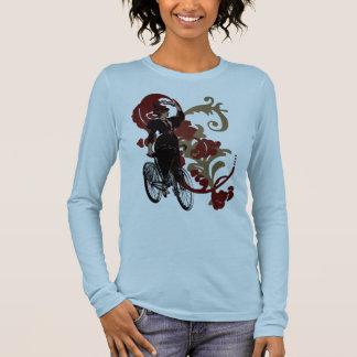 Bike Lady Long Sleeve T-Shirt
