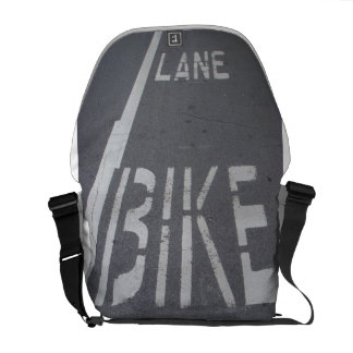 Bike Lane Messenger Bag