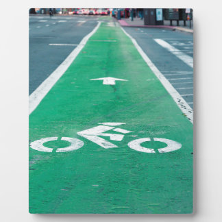 BIKE LANE PHOTO PLAQUE