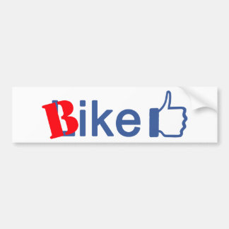 Bike Like Bumper Sticker