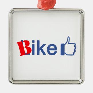 Bike Like Christmas Ornament