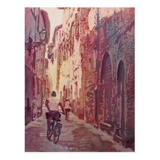 Bike Lucca Postcard