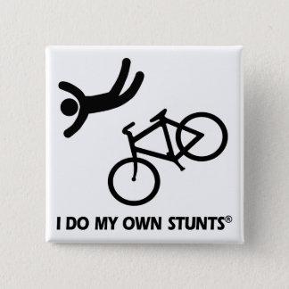Bike My Own Stunts 15 Cm Square Badge