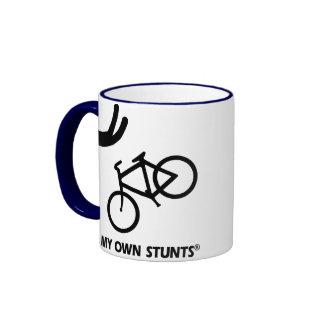 Bike My Own Stunts Coffee Mugs