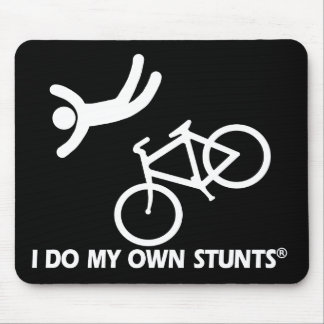 Bike My Own Stunts Mouse Mat