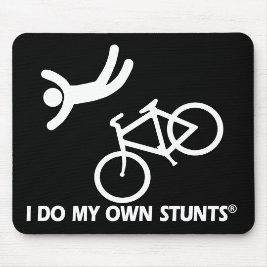 Bike My Own Stunts Mouse Mat