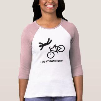 Bike My Own Stunts T-shirts