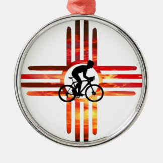 Bike New Mexico Christmas Ornament